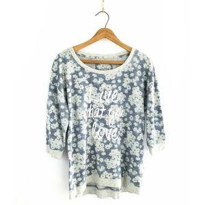 3 for $25-- Sonoma Graphic Pullover Sweatshirt